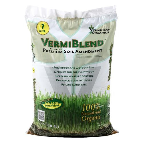 Vermicrop VermiBlend Soil Amendment 1 cu ft (55/Plt)