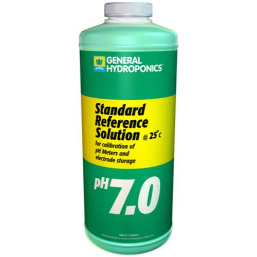 General Hydroponics  pH 7.01 Calibration Solution Quart