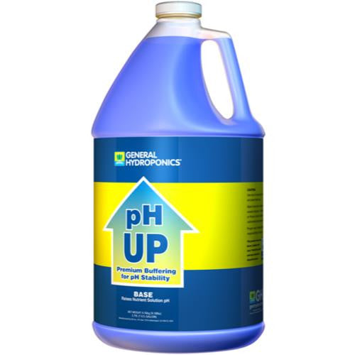 General Hydroponics pH Up Liquid Gallon