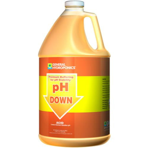 General Hydroponics pH Down Liquid Gallon