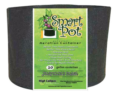 Smart Pot Black 10 Gallon