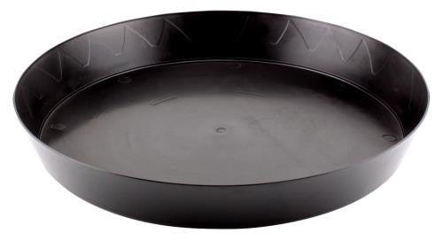 Gro Pro Heavy Duty Black Saucer - 14 in (35/Cs)