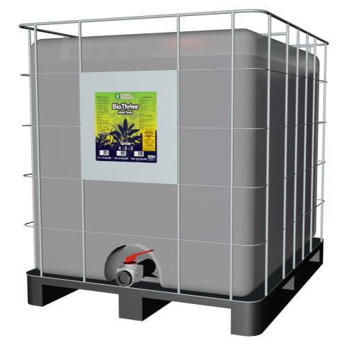 GH General Organics BioThrive Grow 275 Gallon Tote (1/Plt)