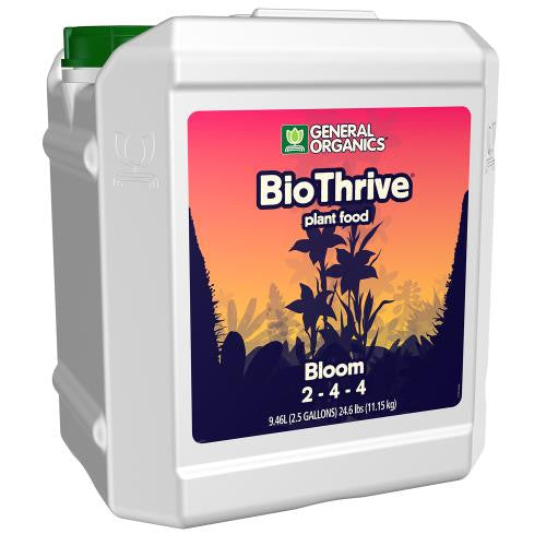 GH General Organics BioThrive Bloom 2.5 Gallon (2/Cs)