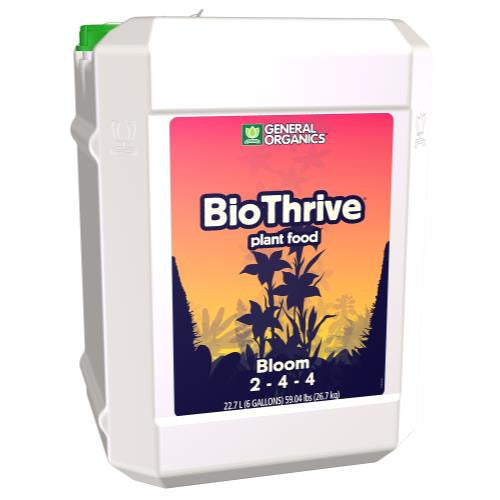 GH General Organics BioThrive Bloom 6 Gallon