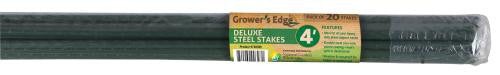 Grower's Edge Deluxe Steel Stake 5/16 in Diameter 4 ft (20/Bag)