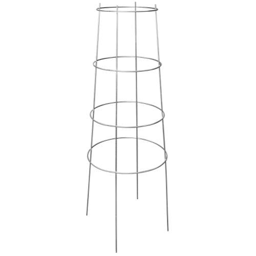 Grower's Edge High Stakes Commercial Grade Inverted Tomato Cage - 4 Ring - 52 in