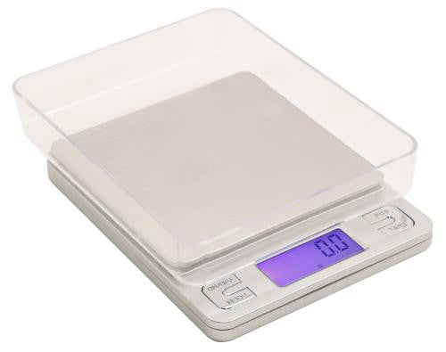 Measure Master 3000g Digital Table Top Scale w/ Tray ̐ 3000g Capacity x 0.1g Accuracy