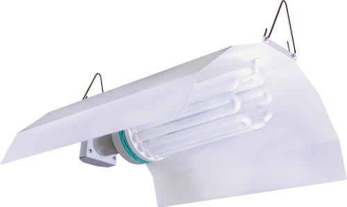 Sun System White Wing CFL Fixture (36/Plt)