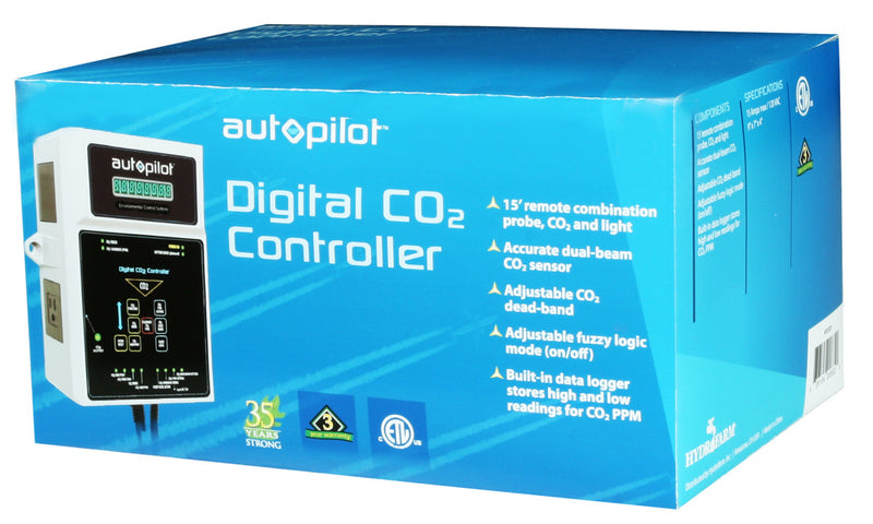 Digital CO2 Controller Fuzzy Logic