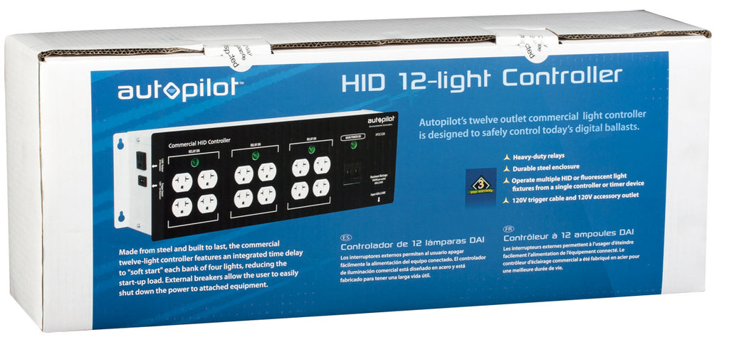 Commercial 12 Light Controller High Power HID