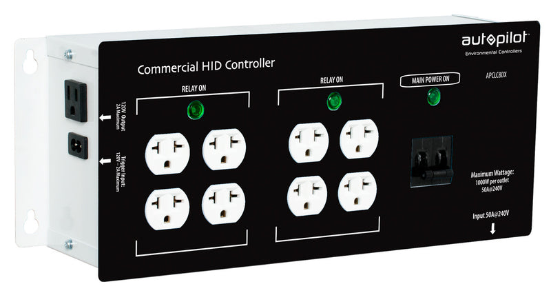 Commercial 8 Light Controller High Power HID