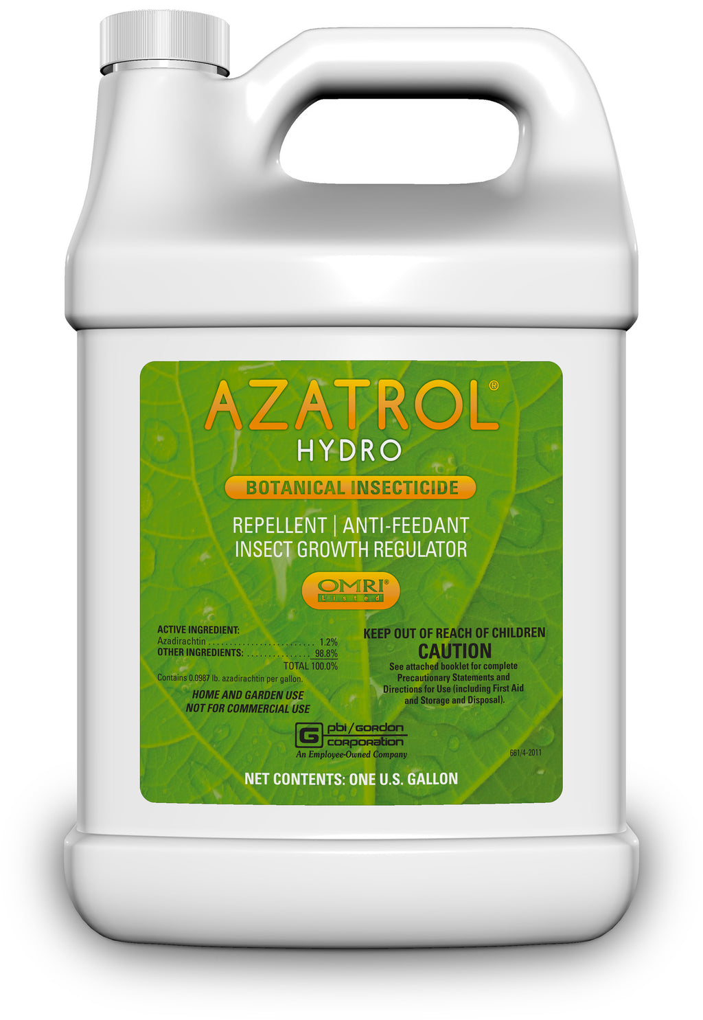 Azatrol Insecticide, 1 gal