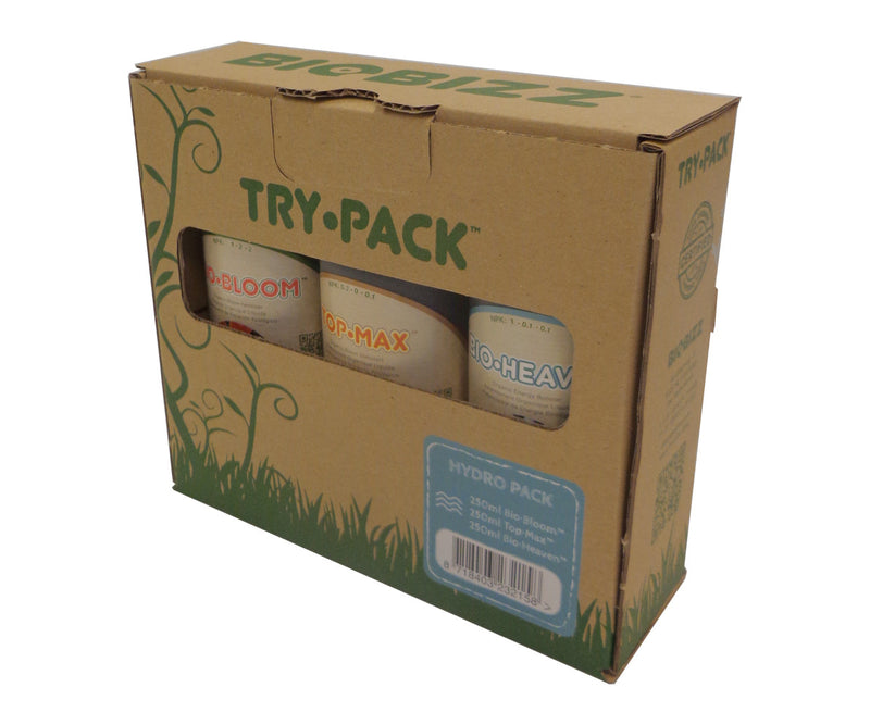 Trypack Hydro, pack of 3-250ml