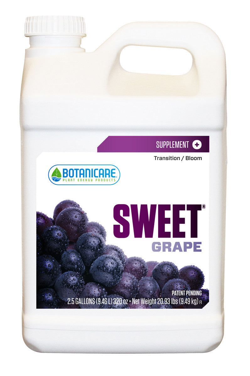 Sweet Carbo Grape 2.5 gal