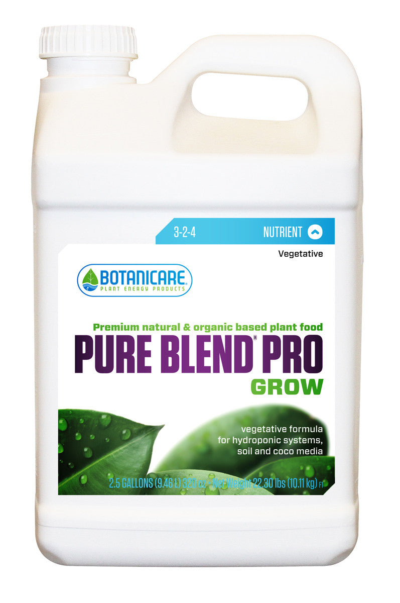 Pure Blend Pro Grow 2.5 gal