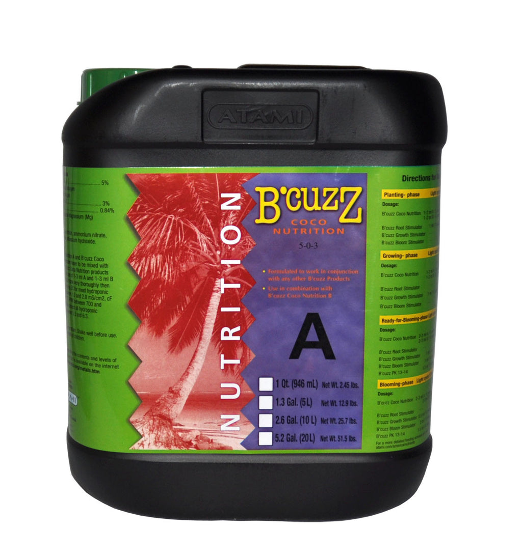 5L B'Cuzz Coco Nutrition Component A