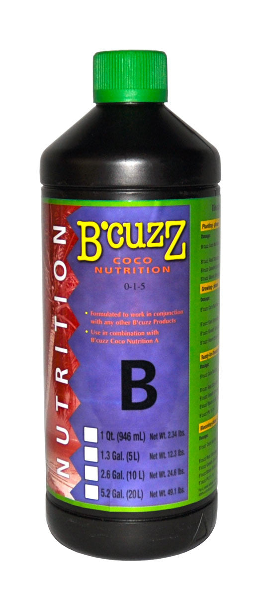 1L B'Cuzz Coco Nutrition Component B