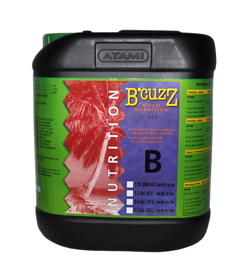 5L B'Cuzz Coco Nutrition Component B
