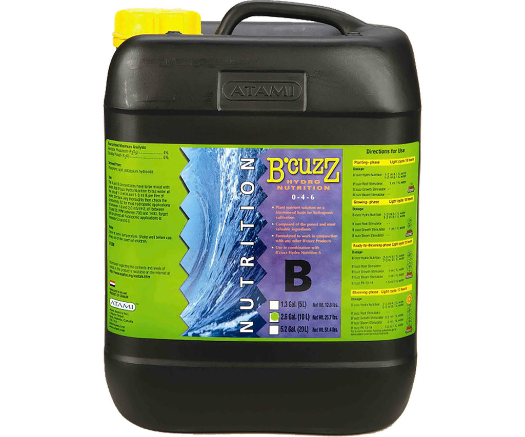 B'Cuzz Hydro Nutrition Component B, 10 lt
