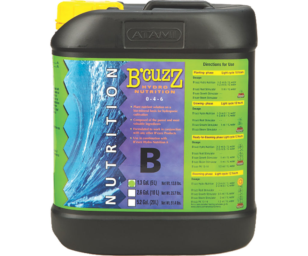 B'Cuzz Hydro Nutrition Component B, 5 lt