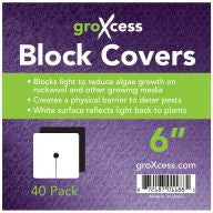 "GroXcess Block Cover 6"", 40 Pack"
