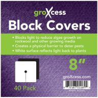 "GroXcess Block Cover 8"", 40 Pack"