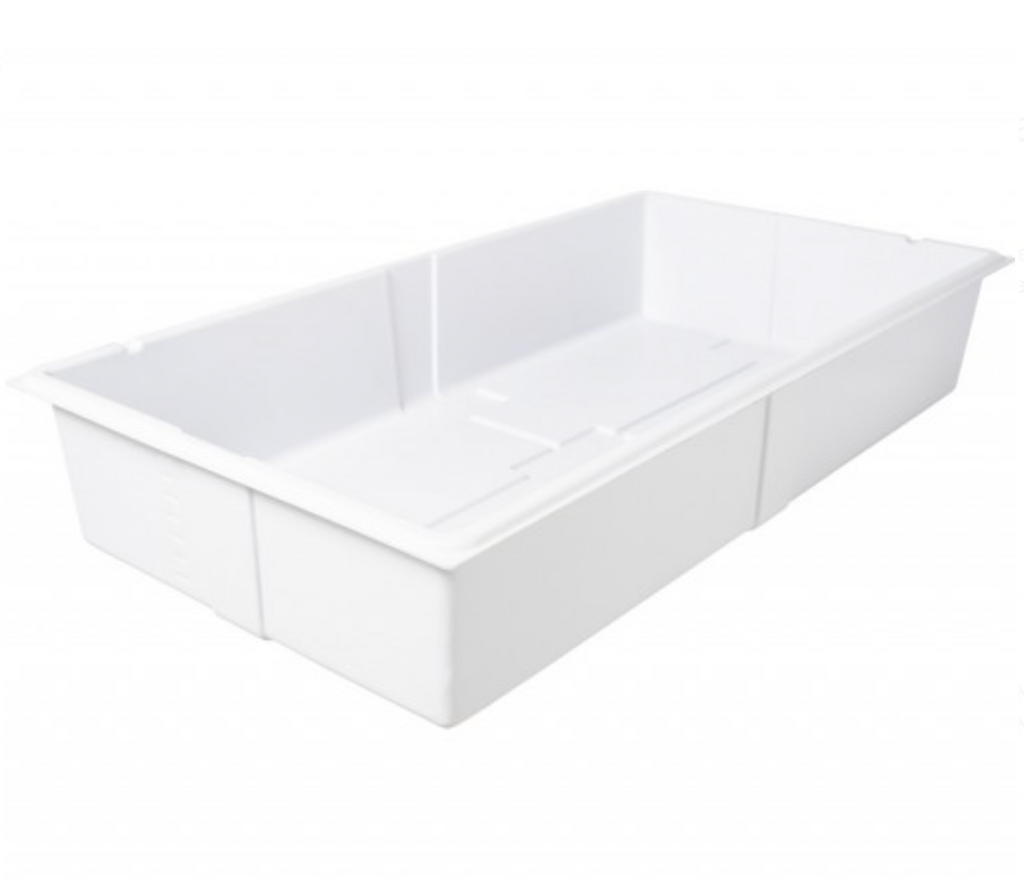Active Aqua Premium Deep Flood Table, White, 2'x4