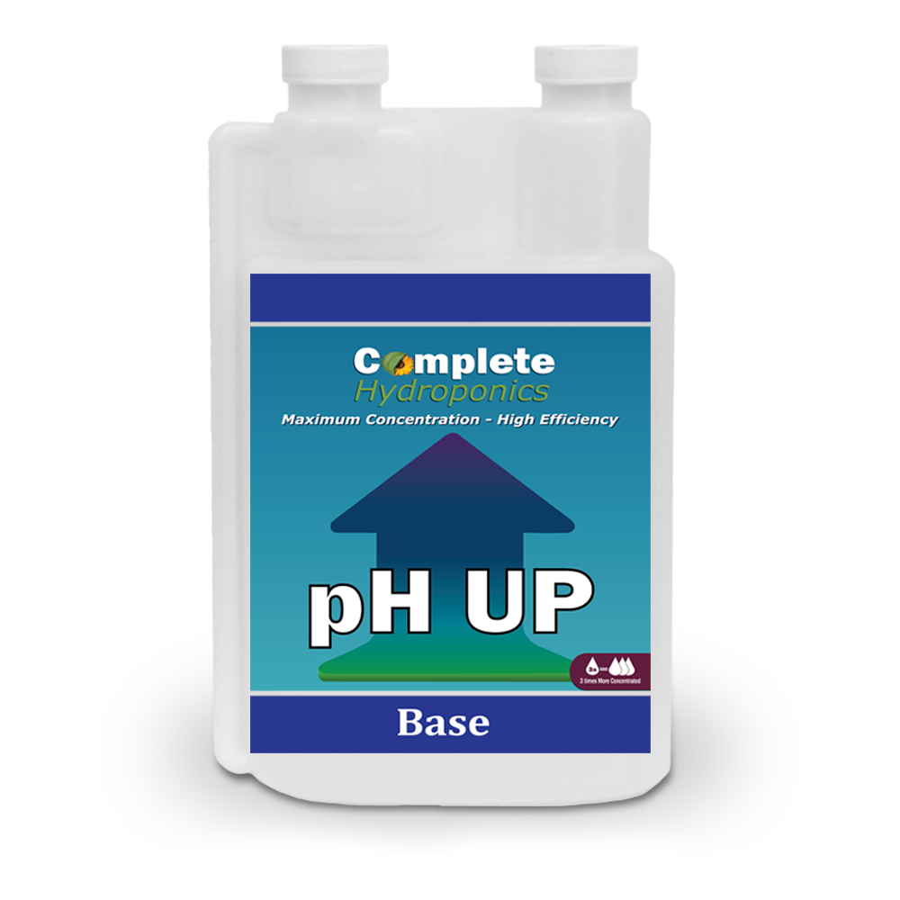 Complete Hydroponics | Maximum Concentration - High Efficiency | pH UP | Base