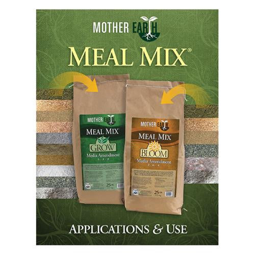 Mother Earth Meal Mix Application Brochure (25/Cs)