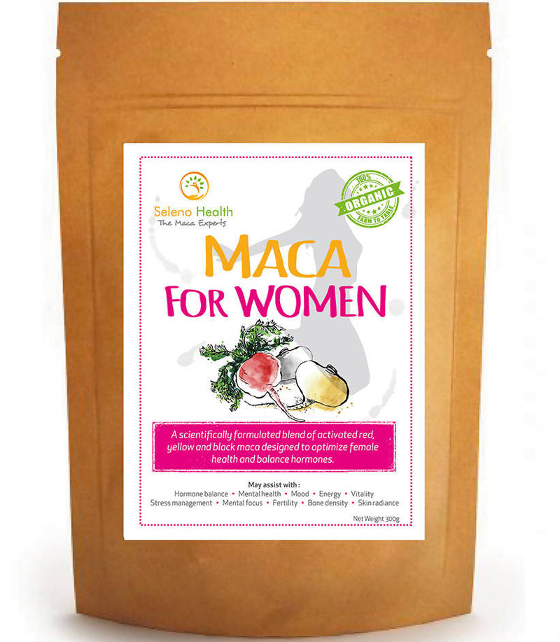 Maca for Women (3 Colores de Maca con Macamidas >75mg)