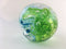 Blue-Green Blown Glass Paperweight