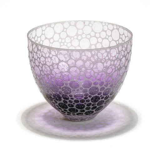 Purple Bubbles | Embellished Bowl