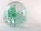 Pale Green Blown Glass Paperweight