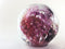 Pink-Purple Blown Glass Paperweight