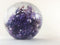 Purple Blown Glass Paperweight