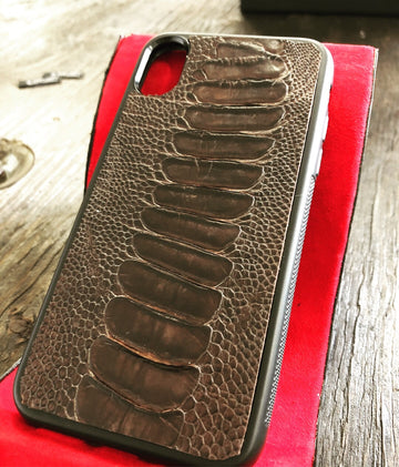 iPhone X Ostrich Leg Cover