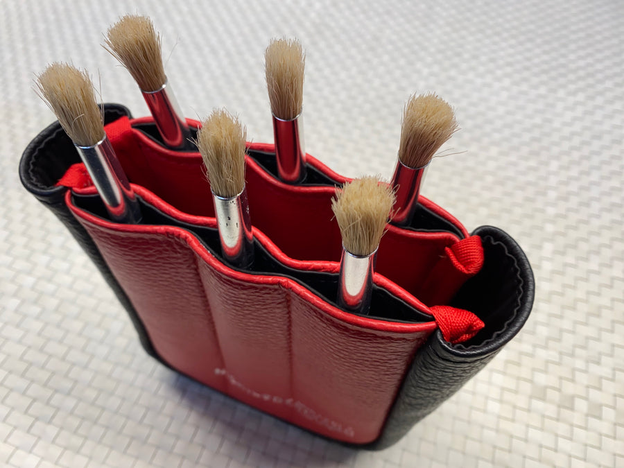 6 Brushes holder