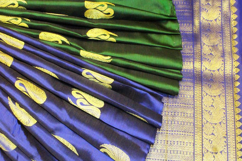 Border-less Silk Sarees