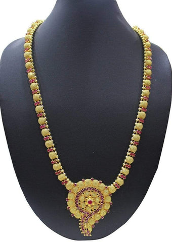 1 gm gold Necklace 005 ARRS Silks