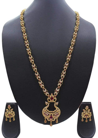 1 gm gold Necklace 008 ARRS Silks