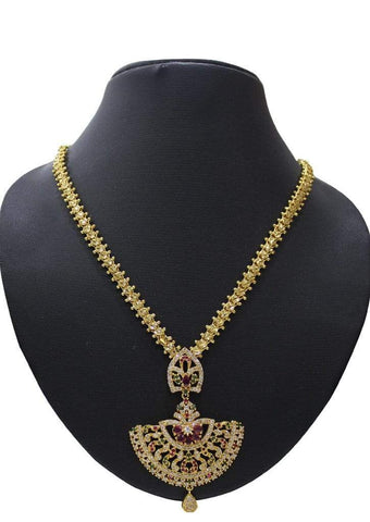 1 gm gold Necklace 011 ARRS Silks