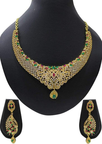 1 gm gold Necklace 012 ARRS Silks
