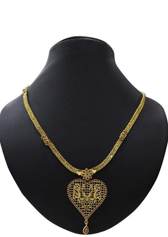 1 gm gold Necklace 019 ARRS Silks