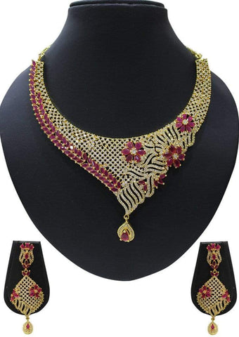 1 gm gold Necklace 020 ARRS Silks