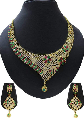 1 gm gold Necklace 021 ARRS Silks