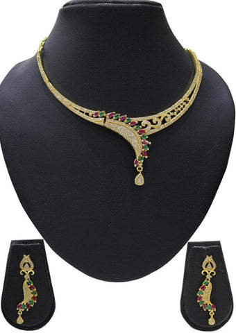 1 gm gold Necklace 024 ARRS Silks