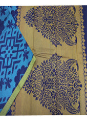 Multi Colour Pure Silk cotton Saree