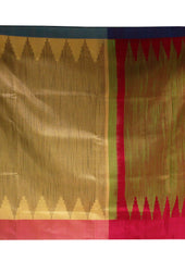 Light Brown With red  Mayuri Soft Silk Saree