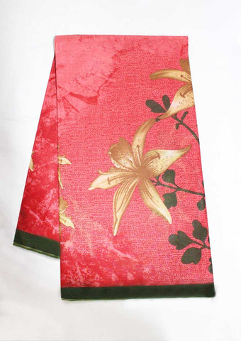 Multi Colour Pure Cotton Saree - EZ16871